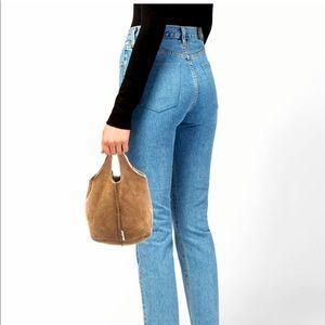 Miu Miu Shearling Handle Bag